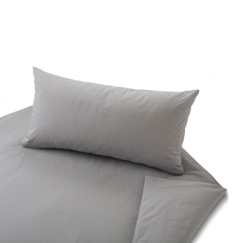 cotonea uni perkal bettw sche chambray rauchquarz g nstig online kaufen bei bettwaren shop. Black Bedroom Furniture Sets. Home Design Ideas