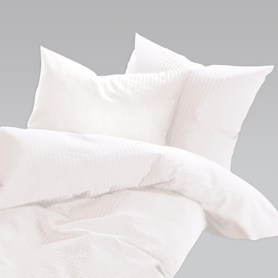 schlafgut uni seersucker bettw sche b gelfrei weiss g nstig online kaufen bei bettwaren shop