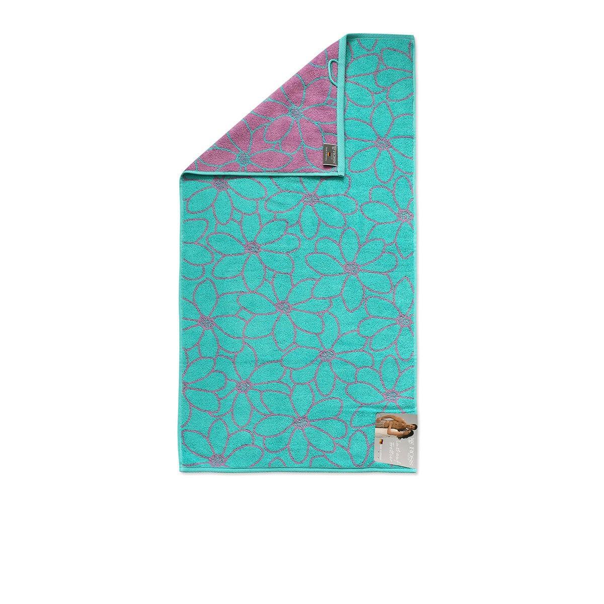 Ross Uni-Walk Handtücher Cashmere Feeling Blütenfond Jade