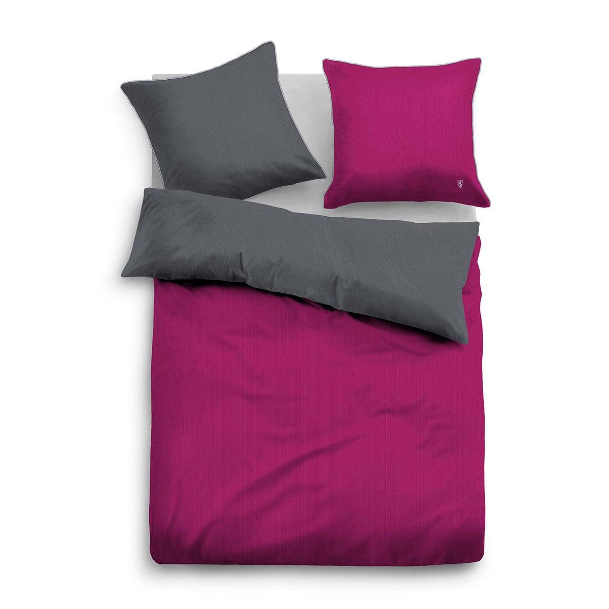tom tailor uni wendebettw sche beere g nstig online kaufen bei bettwaren shop. Black Bedroom Furniture Sets. Home Design Ideas