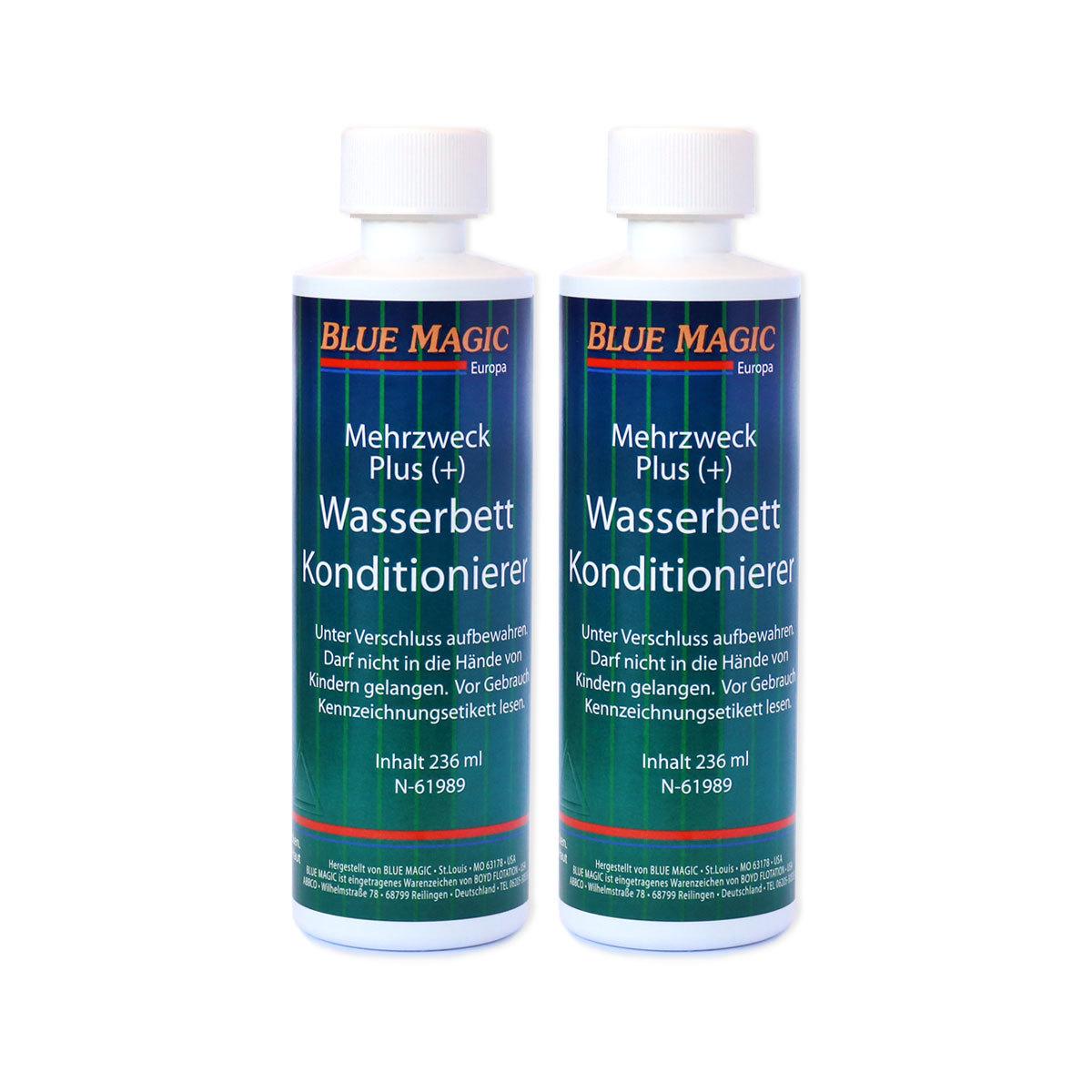 bluemagic wasserbett konditionierer 236 ml 2 flaschen g nstig online kaufen bei bettwaren shop. Black Bedroom Furniture Sets. Home Design Ideas