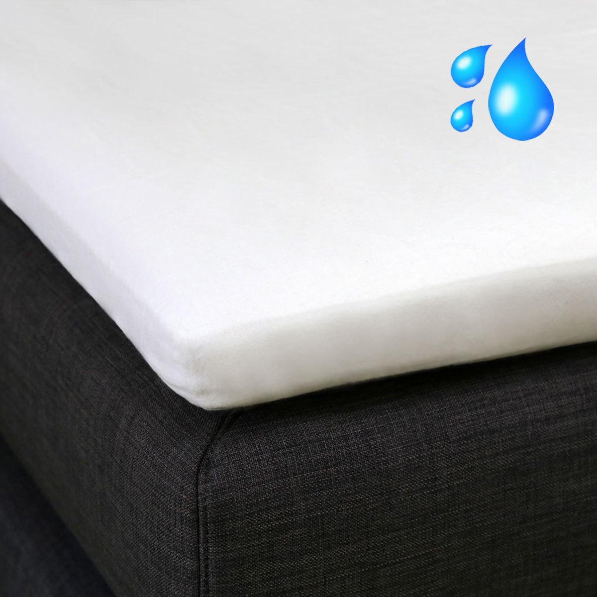 bettwarenshop wasserdichte boxspring topper moltonauflage g nstig online kaufen bei bettwaren shop. Black Bedroom Furniture Sets. Home Design Ideas