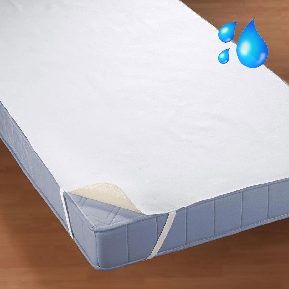 Inkontinenz Matratzenauflage 90x200.Bettwarenshop Wasserdichte Molton Matratzenauflage