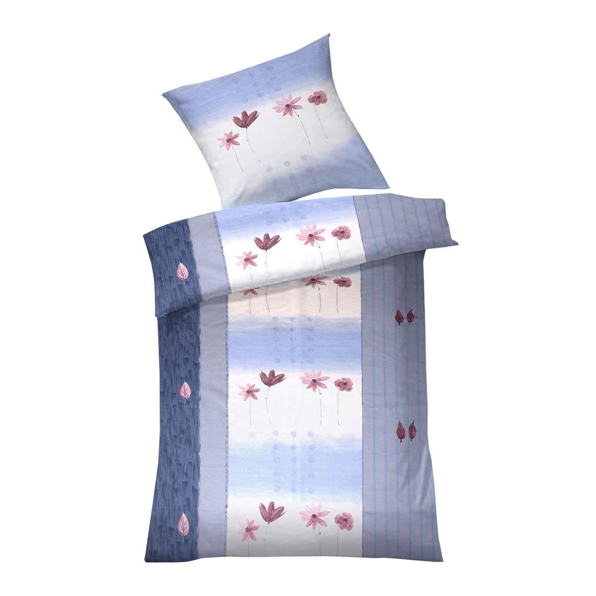 dyckhoff weichfrottier bettw sche annabell blau g nstig online kaufen bei bettwaren shop. Black Bedroom Furniture Sets. Home Design Ideas