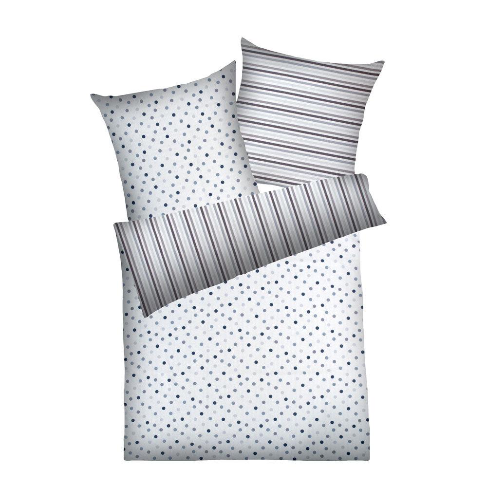 dyckhoff weichfrottier bettw sche simone grau g nstig online kaufen bei bettwaren shop. Black Bedroom Furniture Sets. Home Design Ideas