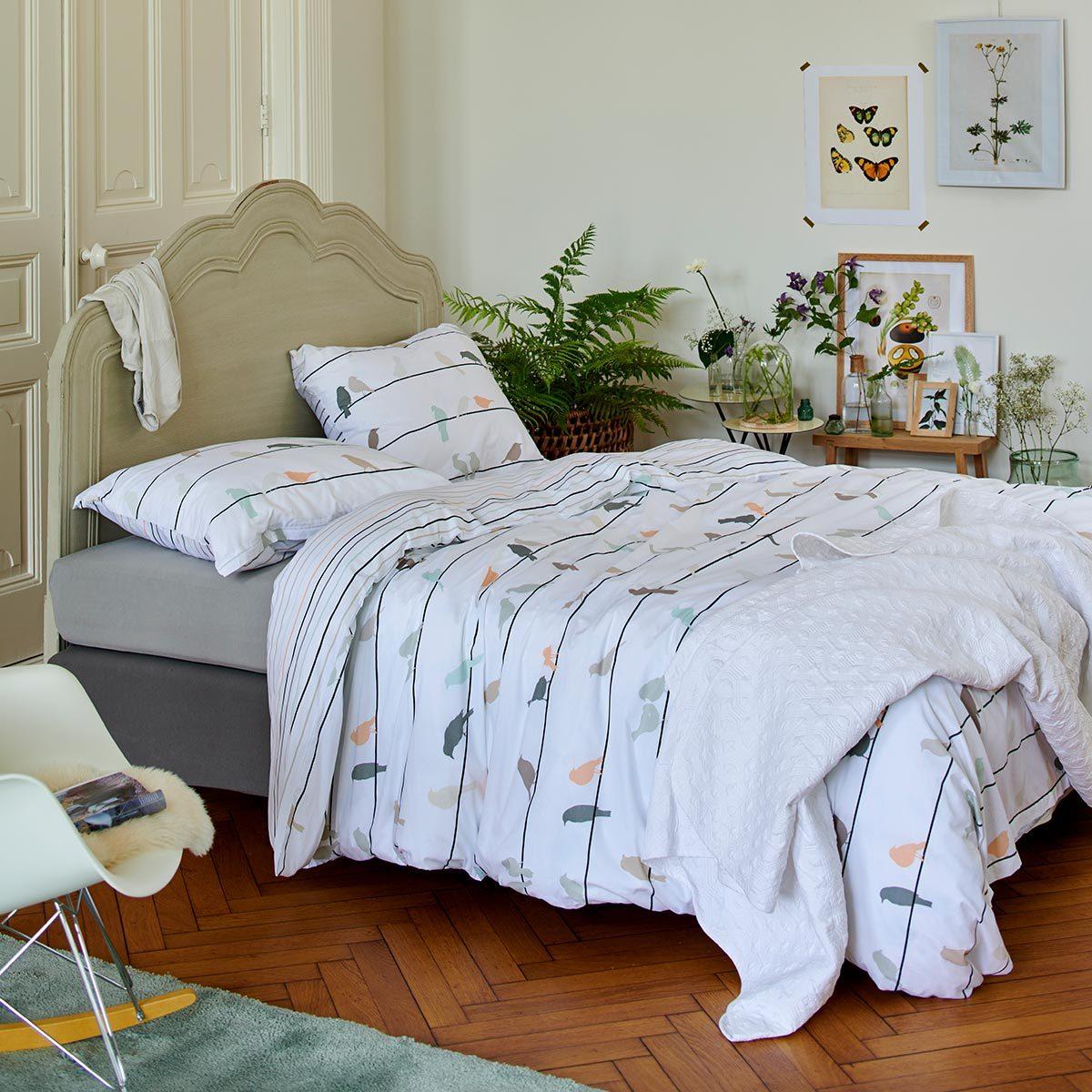 esprit wendebettw sche birdies multi g nstig online kaufen. Black Bedroom Furniture Sets. Home Design Ideas