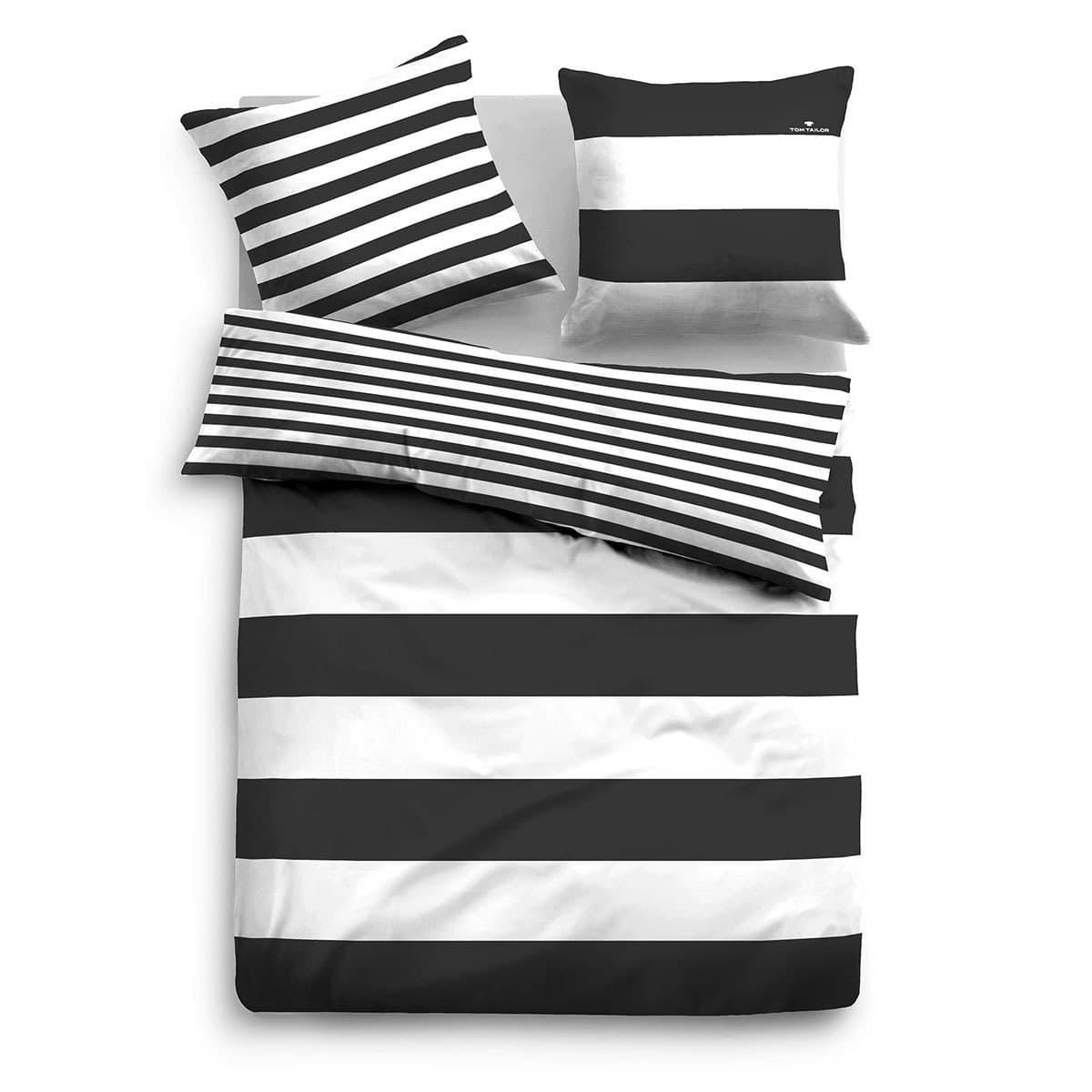 tom tailor wendebettw sche casual stripe 49769 821 g nstig online kaufen bei bettwaren shop. Black Bedroom Furniture Sets. Home Design Ideas