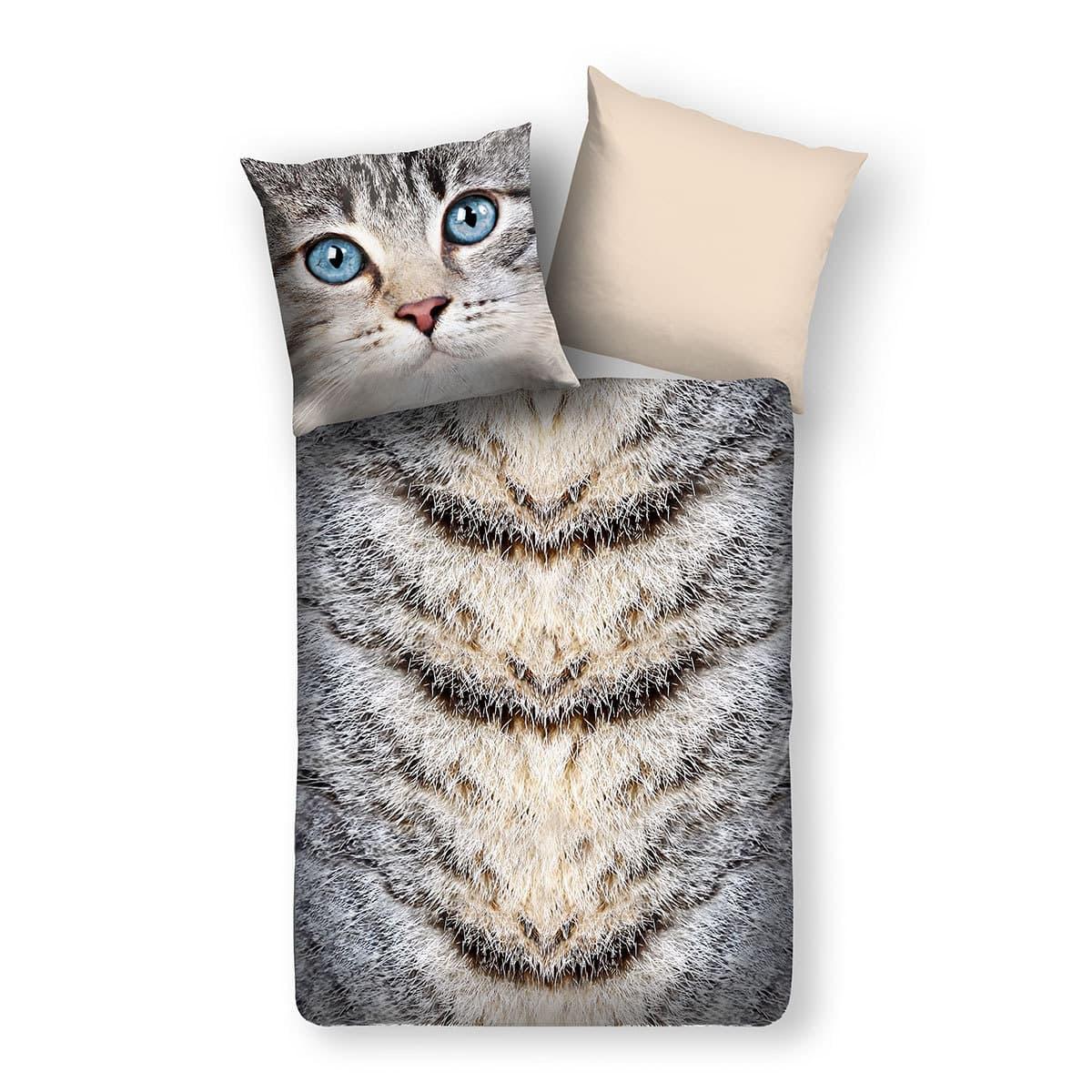 Traumschlaf Wendebettwäsche Katze