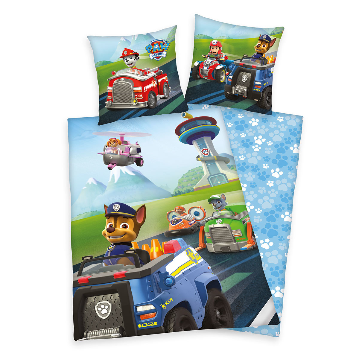 herding wendebettw sche paw patrol g nstig online kaufen bei bettwaren shop. Black Bedroom Furniture Sets. Home Design Ideas