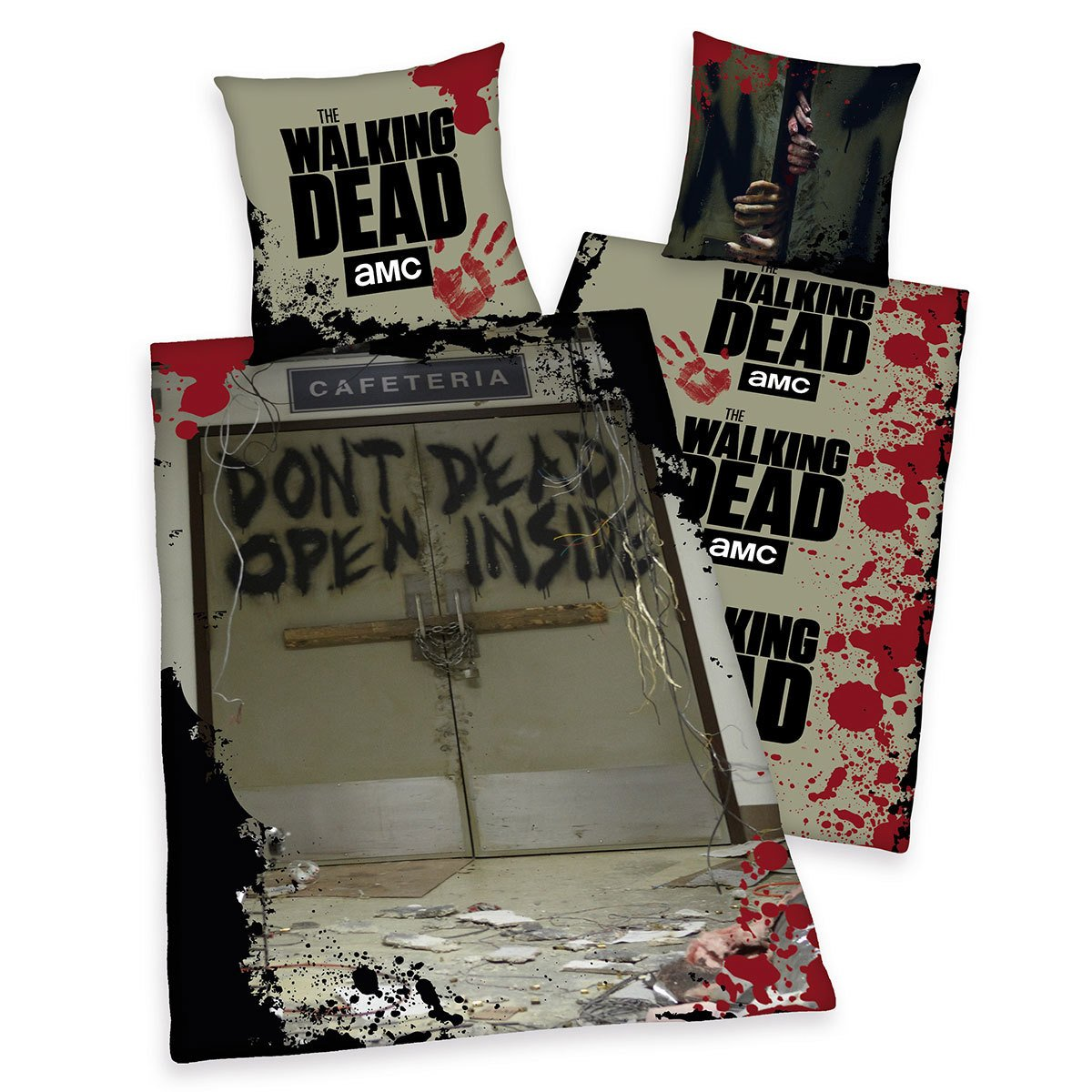 herding wendebettw sche the walking dead g nstig online. Black Bedroom Furniture Sets. Home Design Ideas