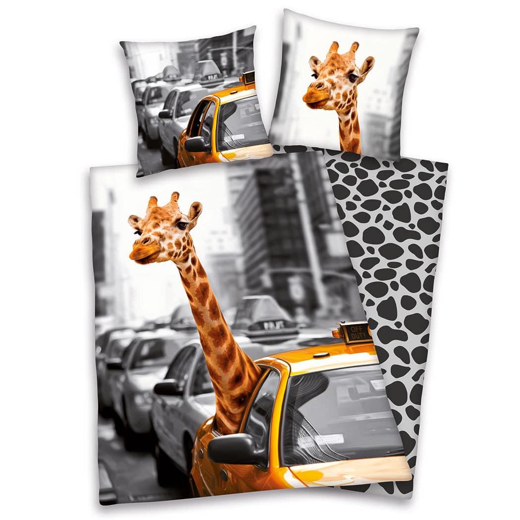 herding young collection bettw sche new york safari g nstig online kaufen bei bettwaren shop. Black Bedroom Furniture Sets. Home Design Ideas