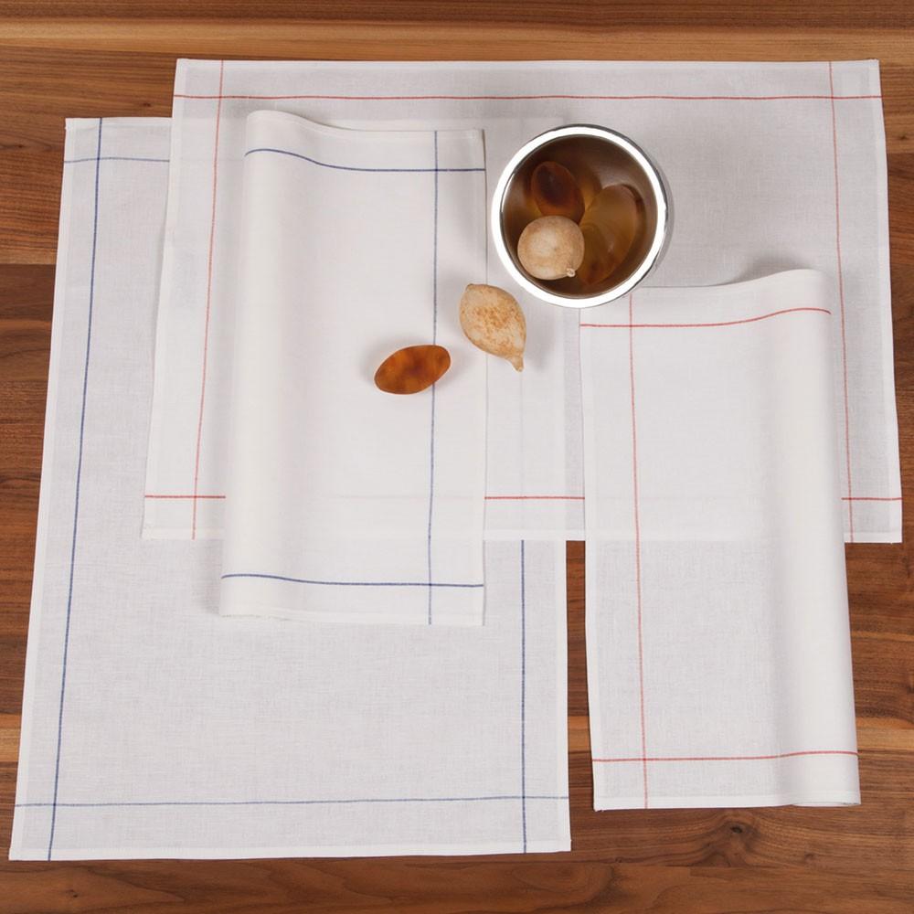 ross zwirn halbleinen geschirrt cher kellnertuch 45x65 cm. Black Bedroom Furniture Sets. Home Design Ideas