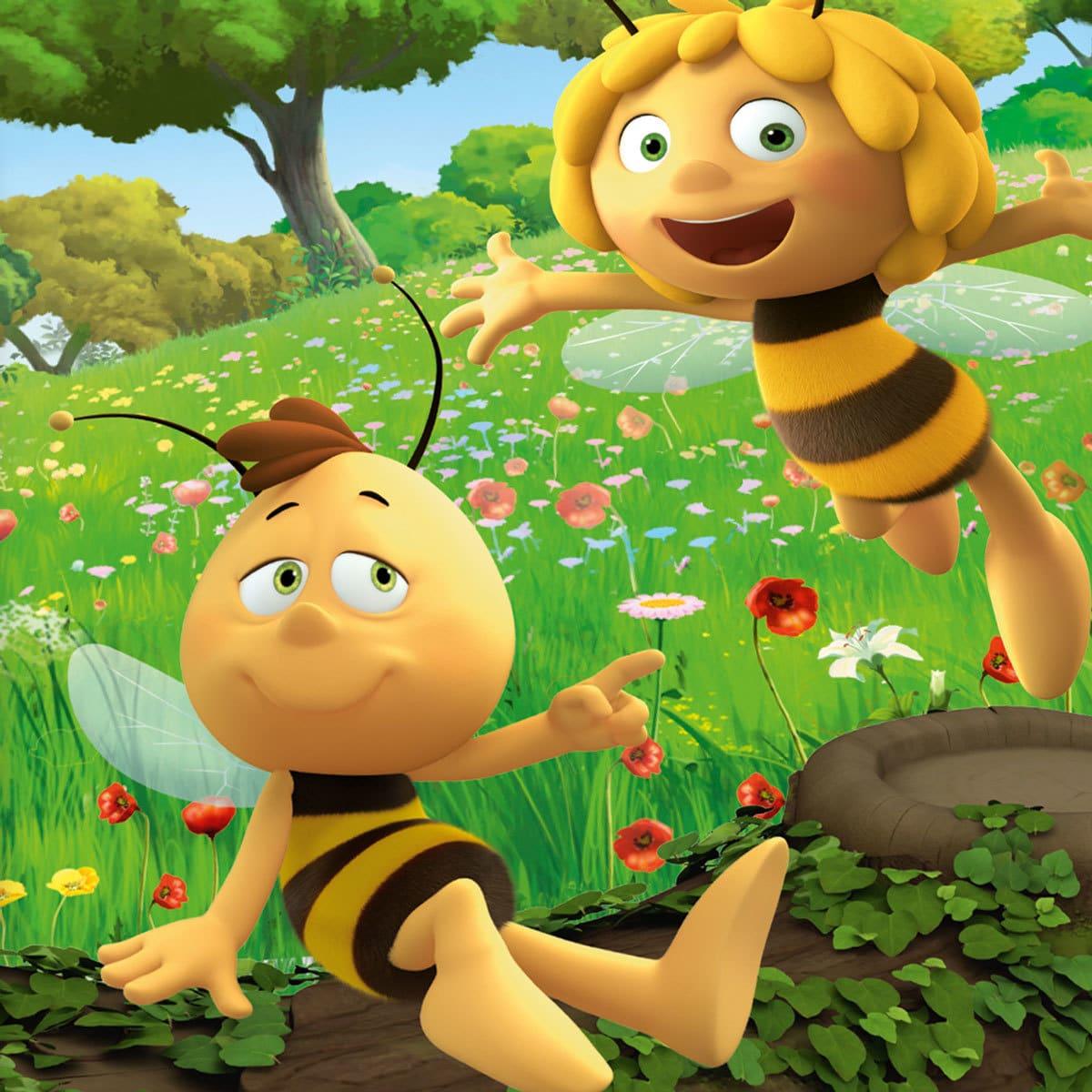 Herding Bettwäsche Biene Maja Günstig Online Kaufen Bei Bettwaren Shop