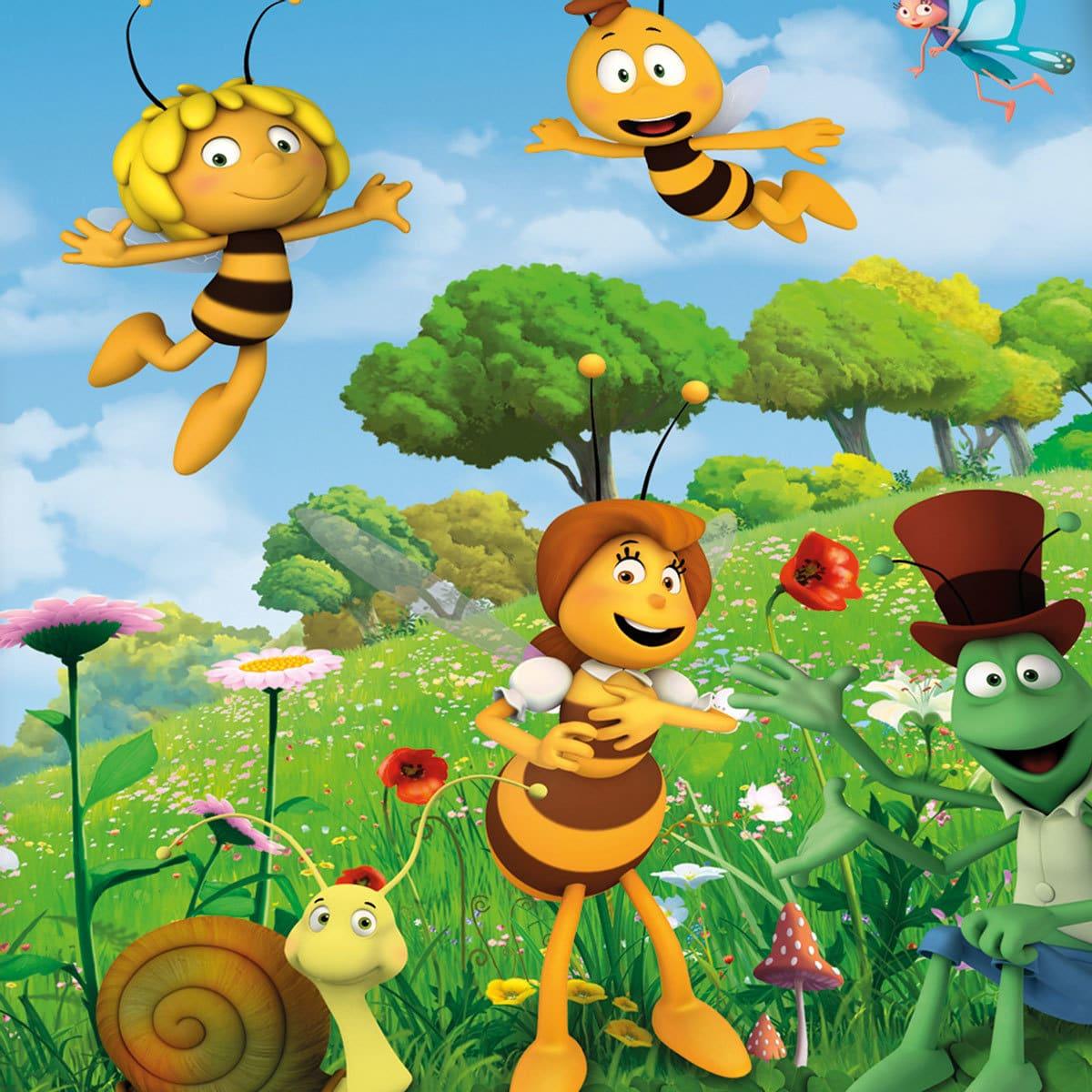 Herding Bettwäsche Biene Maja Blütenwiese Günstig Online Kaufen Bei