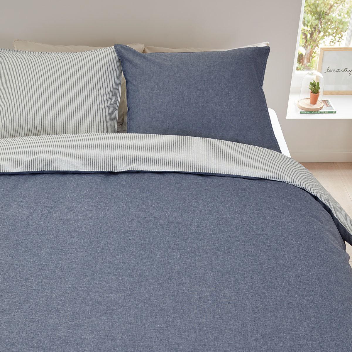 beddinghouse bettw sche cloud blau g nstig online kaufen bei bettwaren shop. Black Bedroom Furniture Sets. Home Design Ideas