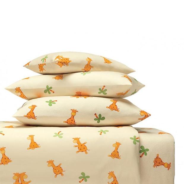 cotonea bettw sche giraffe aus bio baumwolle g nstig online kaufen bei bettwaren shop. Black Bedroom Furniture Sets. Home Design Ideas