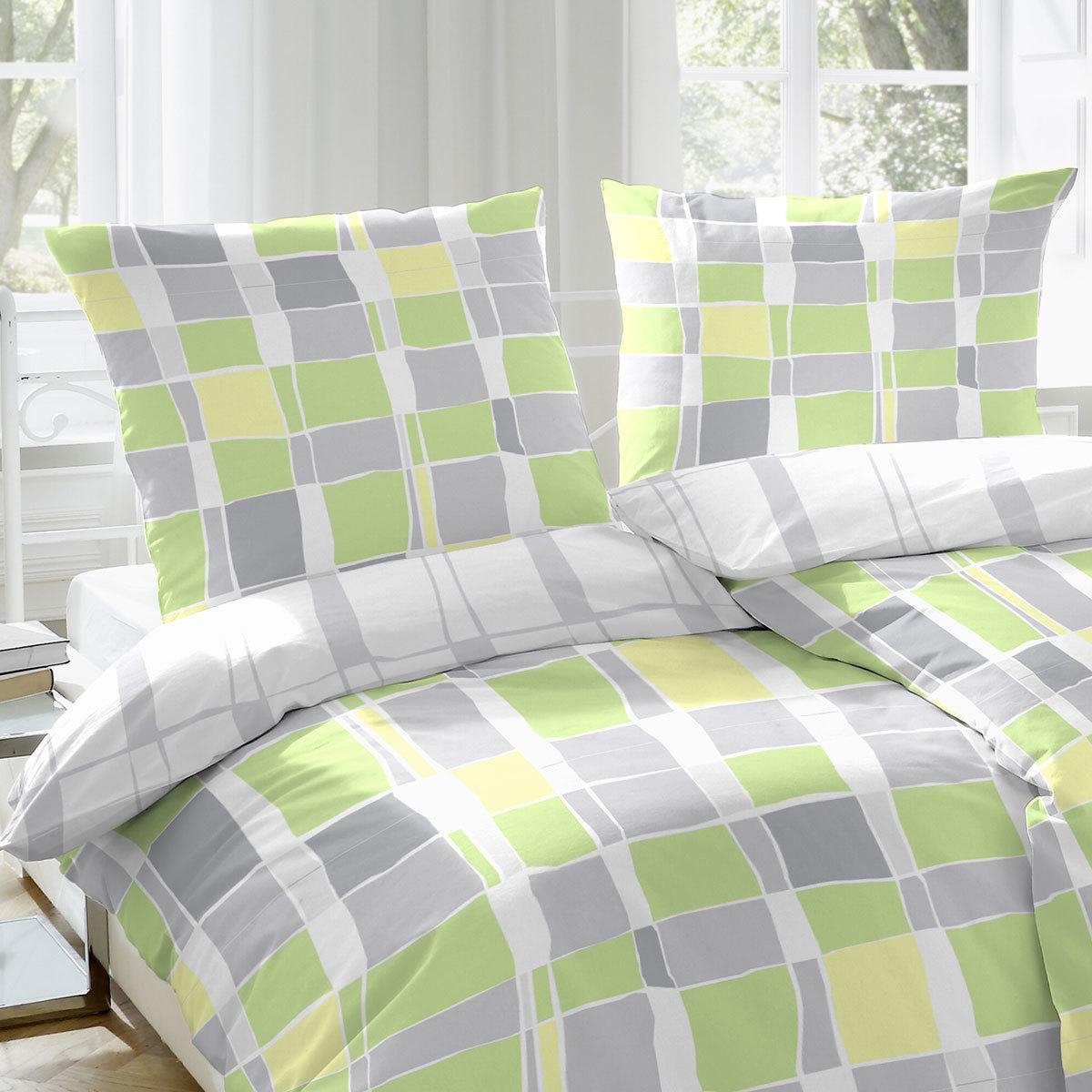 enrico coss bettw sche graphic gr n g nstig online kaufen. Black Bedroom Furniture Sets. Home Design Ideas