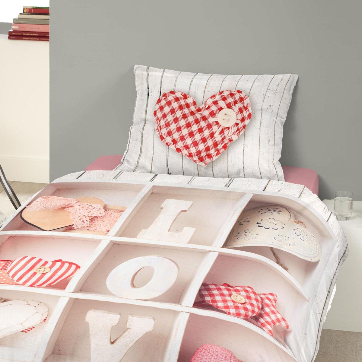 good morning bettw sche love g nstig online kaufen bei bettwaren shop. Black Bedroom Furniture Sets. Home Design Ideas