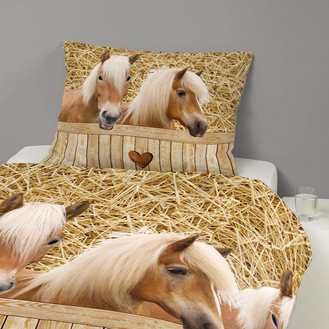 Good Morning Bettwäsche Pferde Günstig Online Kaufen Bei Bettwaren Shop