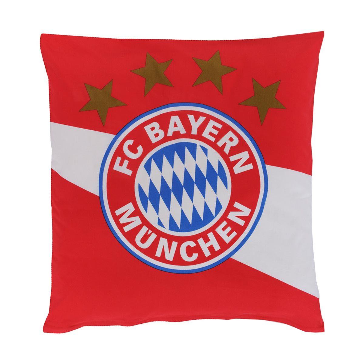 Fc Bayern München Bettwäsche Rotweiss Günstig Online Kaufen Bei