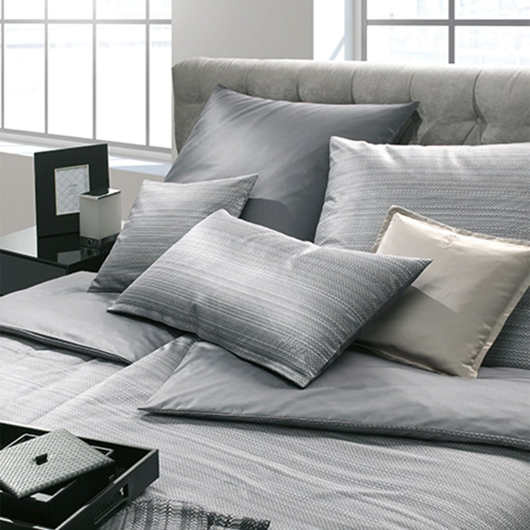joop bettw sche woven deep coal g nstig online kaufen bei bettwaren shop. Black Bedroom Furniture Sets. Home Design Ideas