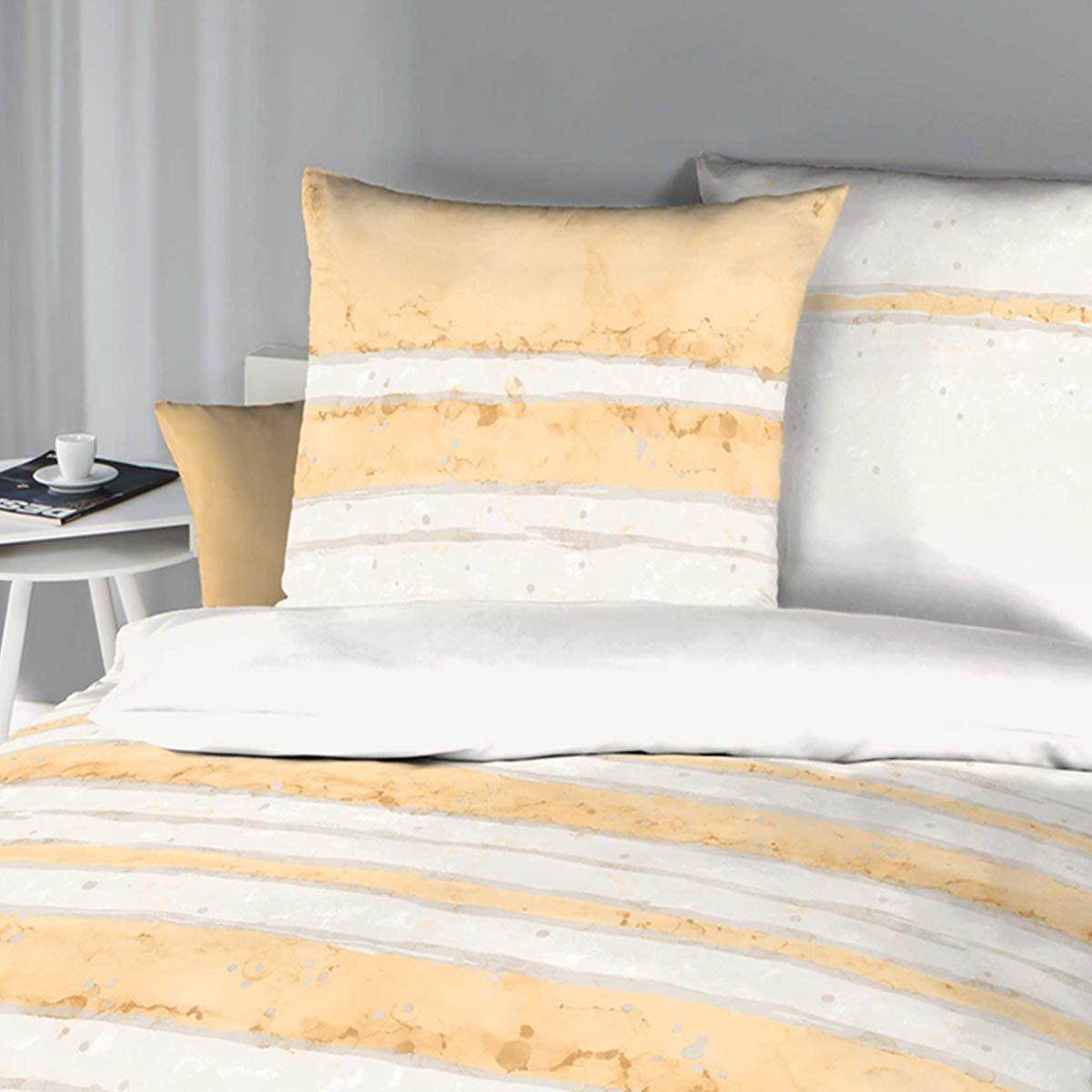 kaeppel biber bettw sche aquarello pfirsich g nstig online kaufen bei bettwaren shop. Black Bedroom Furniture Sets. Home Design Ideas