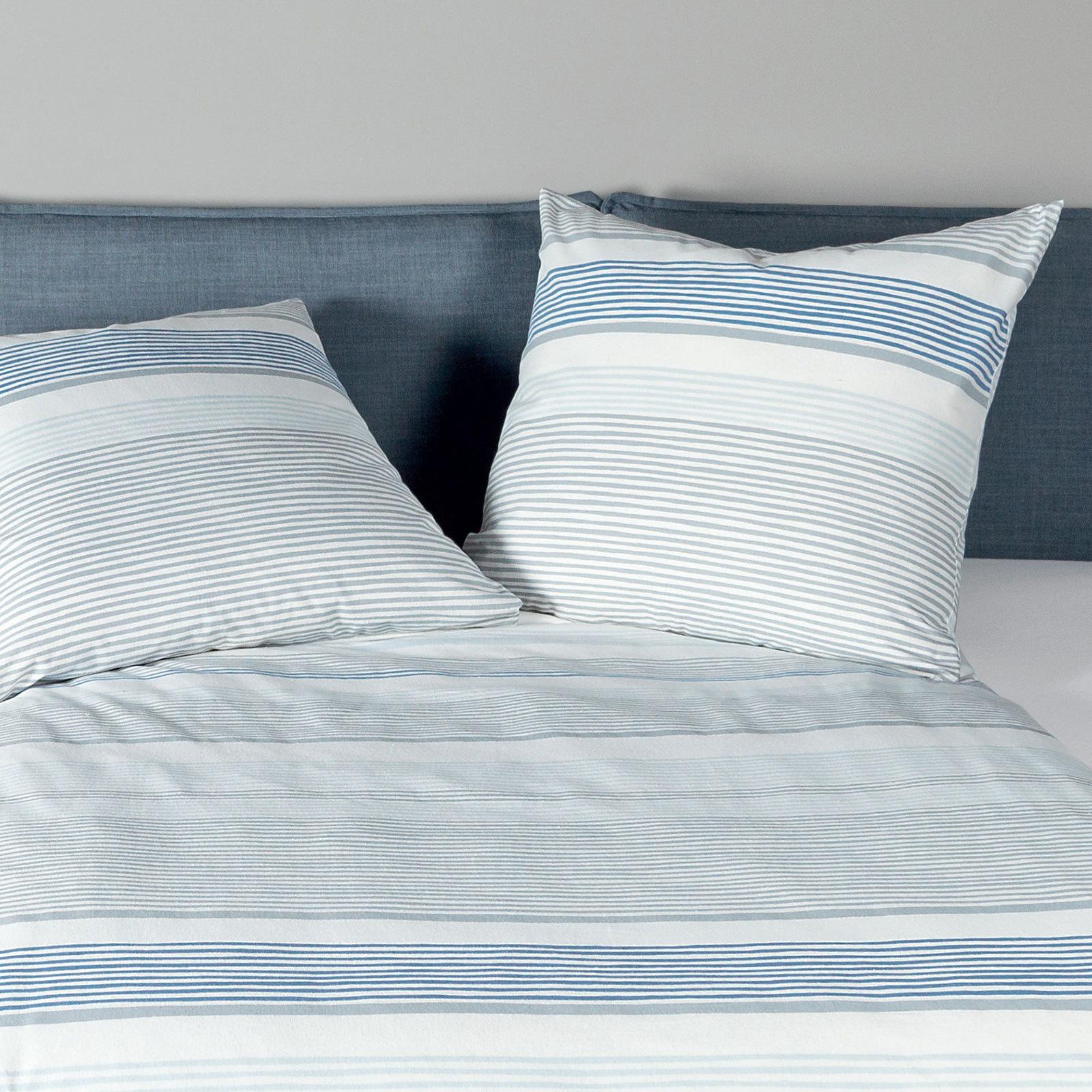 janine biber bettw sche davos 65045 02 blau g nstig online kaufen bei bettwaren shop. Black Bedroom Furniture Sets. Home Design Ideas