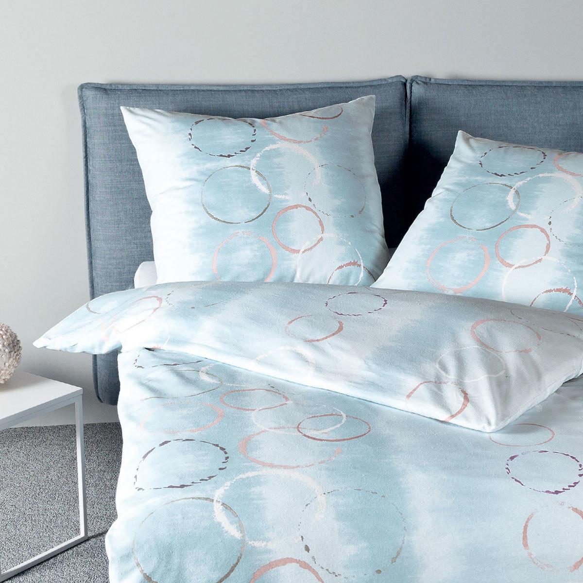 janine biber bettw sche davos 65049 02 sternblau g nstig online kaufen bei bettwaren shop. Black Bedroom Furniture Sets. Home Design Ideas
