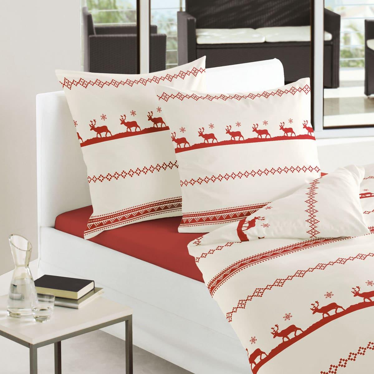 bierbaum biber bettw sche hirsche g nstig online kaufen bei bettwaren shop. Black Bedroom Furniture Sets. Home Design Ideas