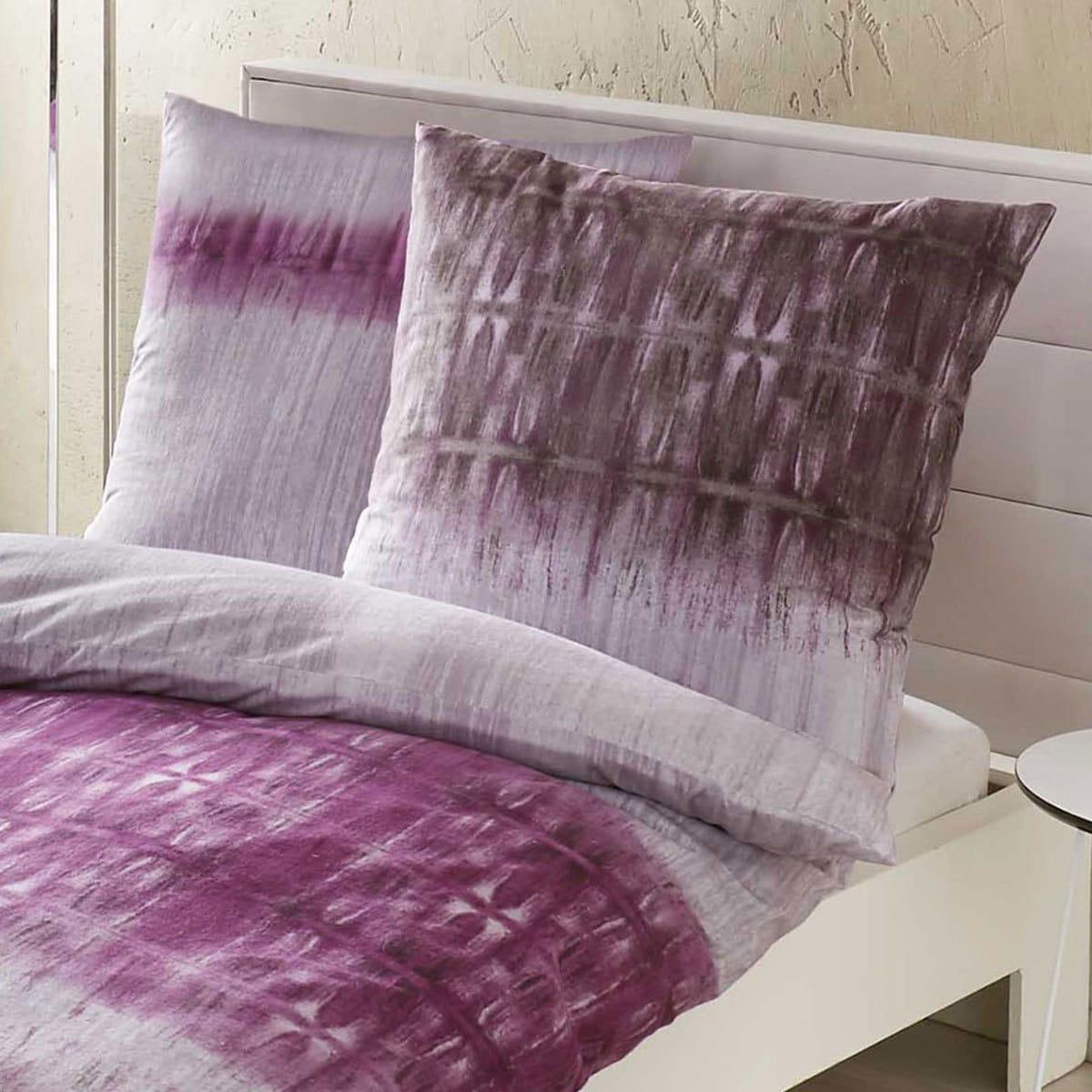 kaeppel biber bettw sche symmetry violett g nstig online kaufen bei bettwaren shop. Black Bedroom Furniture Sets. Home Design Ideas
