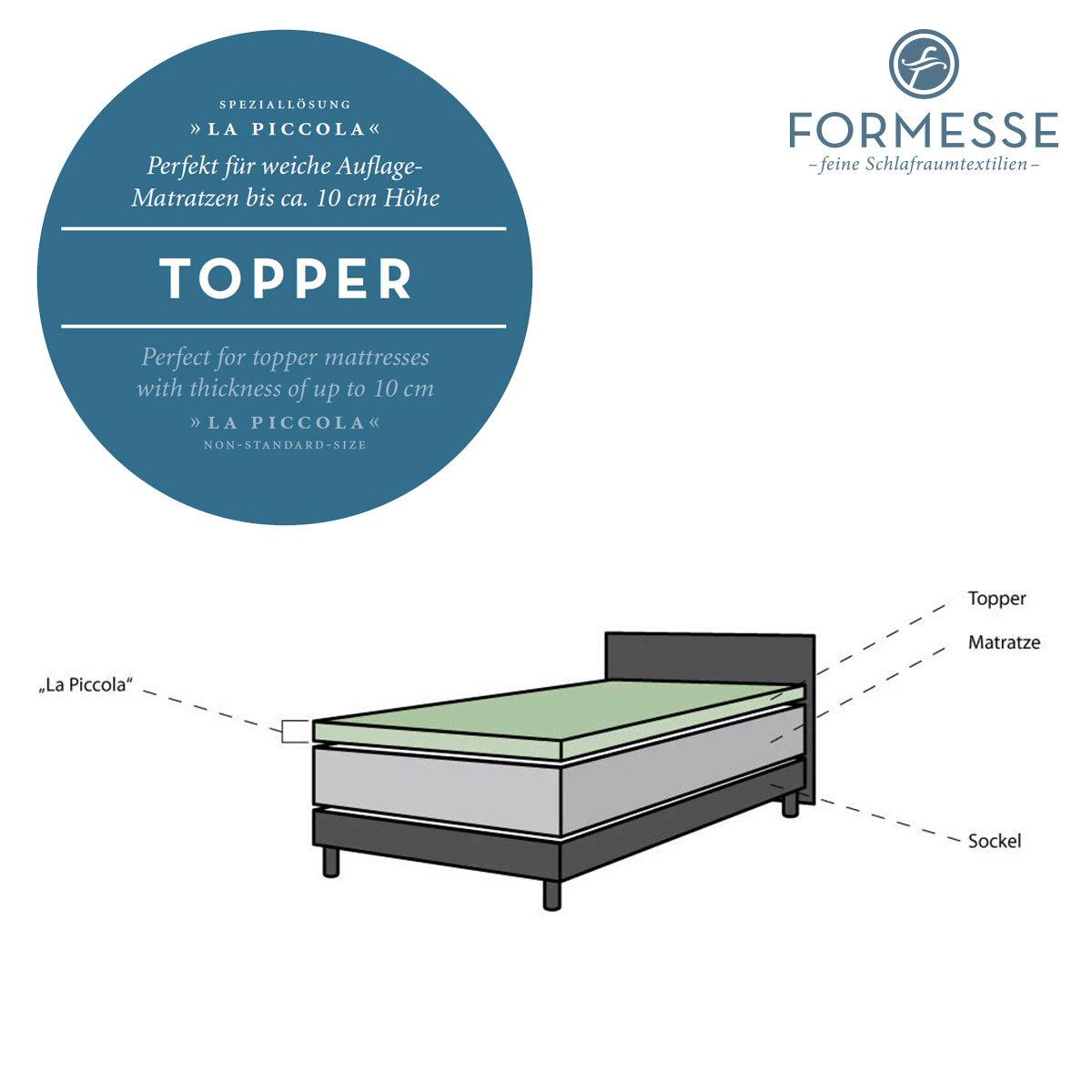 formesse boxspring split topper spannbetttuch bella donna. Black Bedroom Furniture Sets. Home Design Ideas
