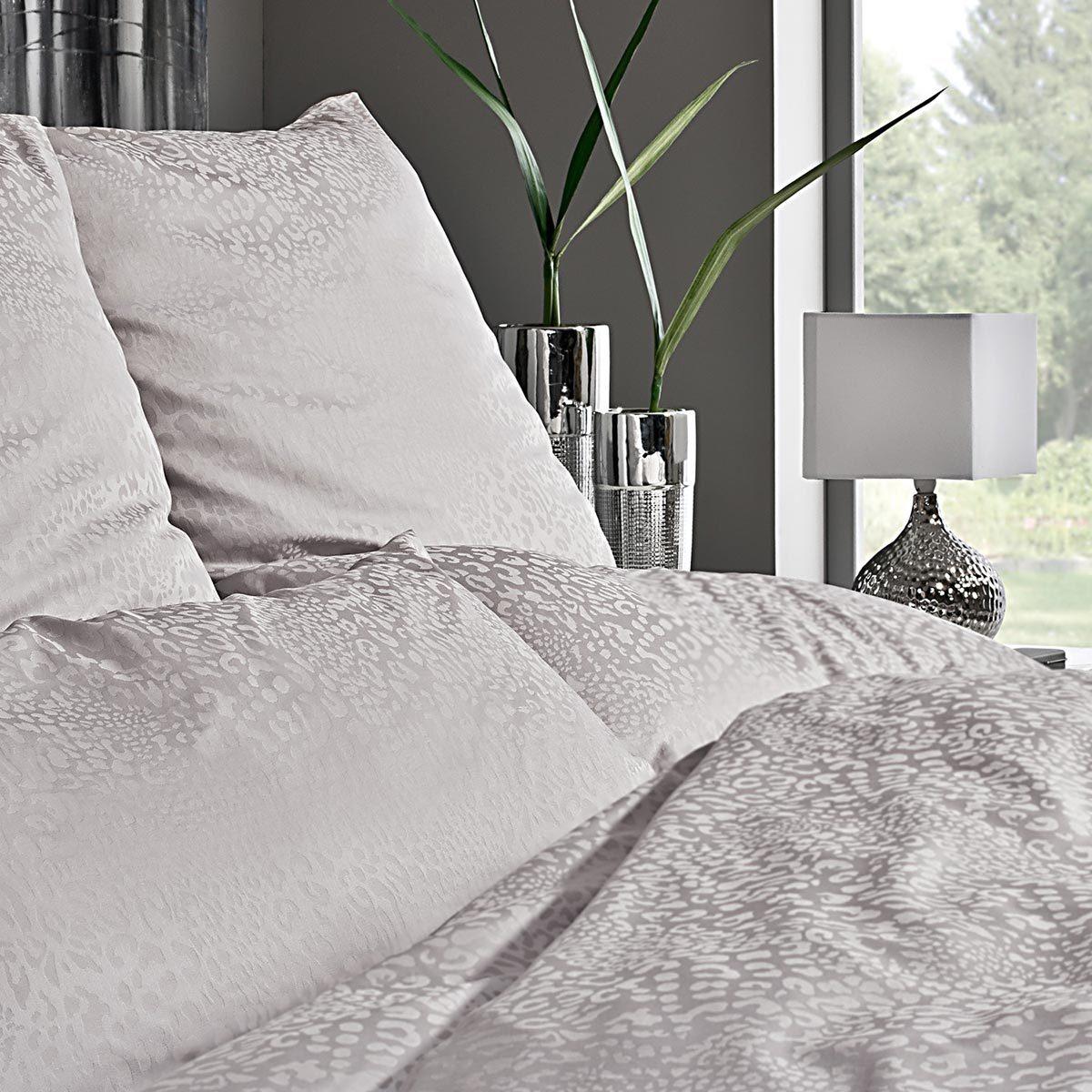 estella damast bettw sche jamal platin g nstig online kaufen bei bettwaren shop. Black Bedroom Furniture Sets. Home Design Ideas