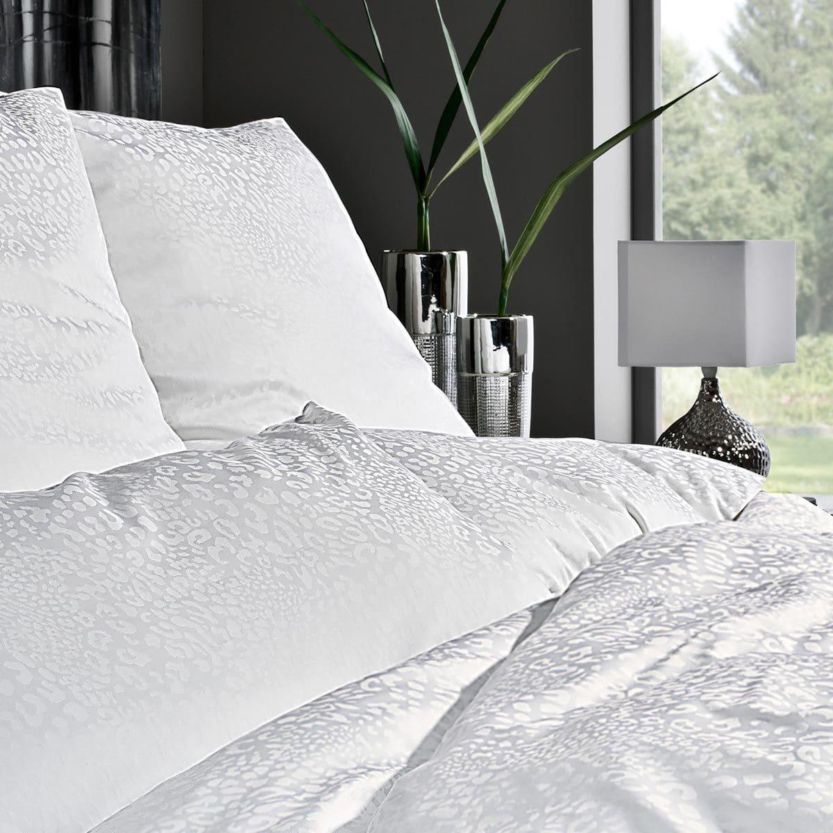 estella damast bettw sche jamal wei g nstig online kaufen. Black Bedroom Furniture Sets. Home Design Ideas