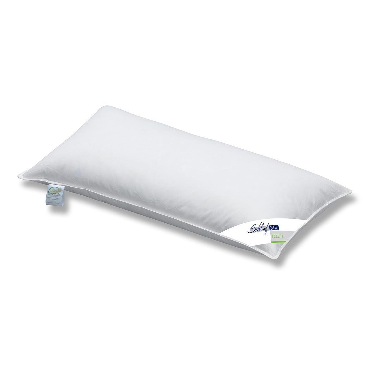 schlafstil feder kopfkissen relax it mittel g nstig online kaufen bei bettwaren shop. Black Bedroom Furniture Sets. Home Design Ideas
