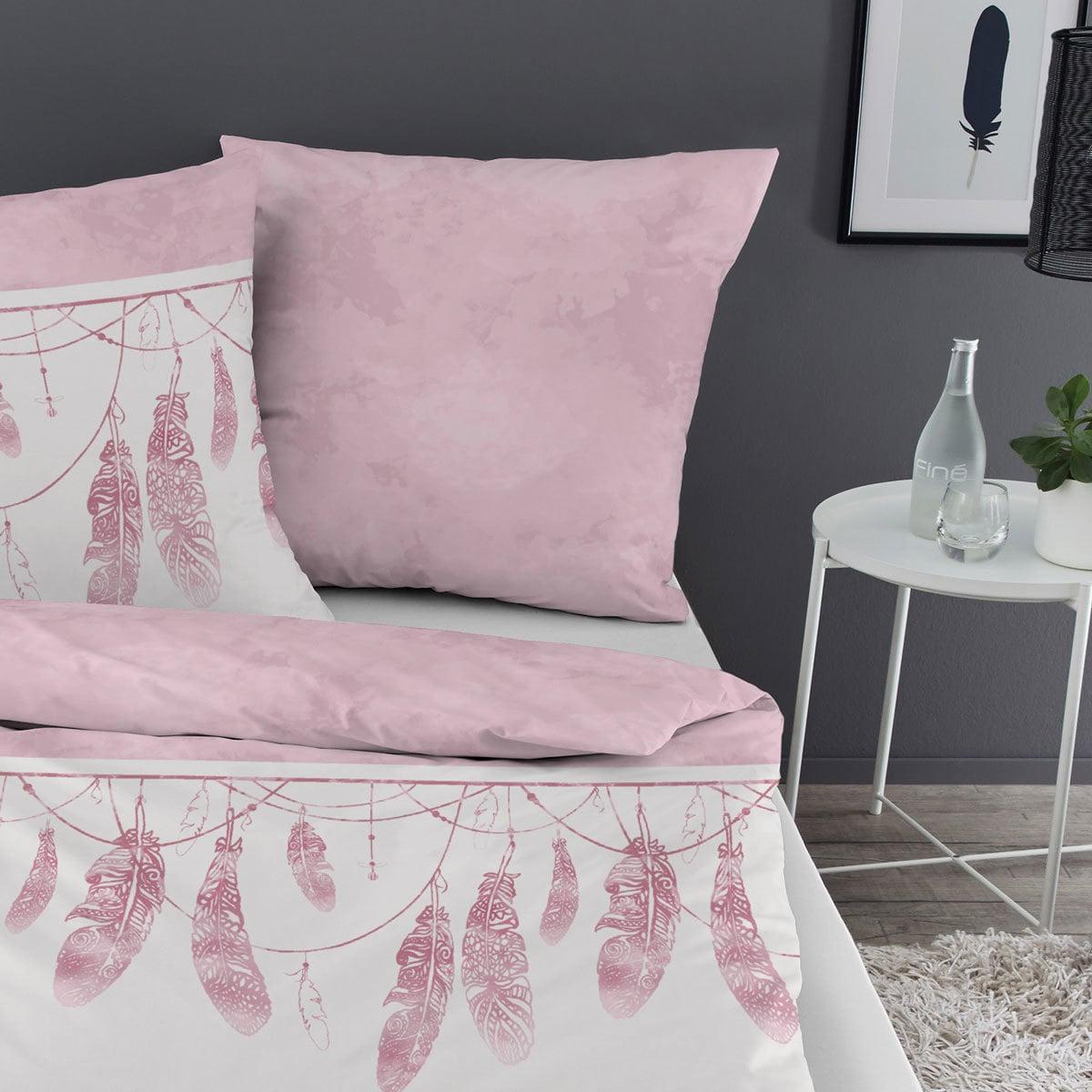 dormisette feinbiber bettw sche federn wei g nstig online kaufen bei bettwaren shop. Black Bedroom Furniture Sets. Home Design Ideas