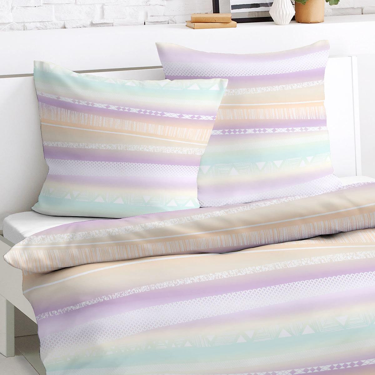 traumschlaf feinbiber bettw sche triangel g nstig online kaufen bei bettwaren shop. Black Bedroom Furniture Sets. Home Design Ideas