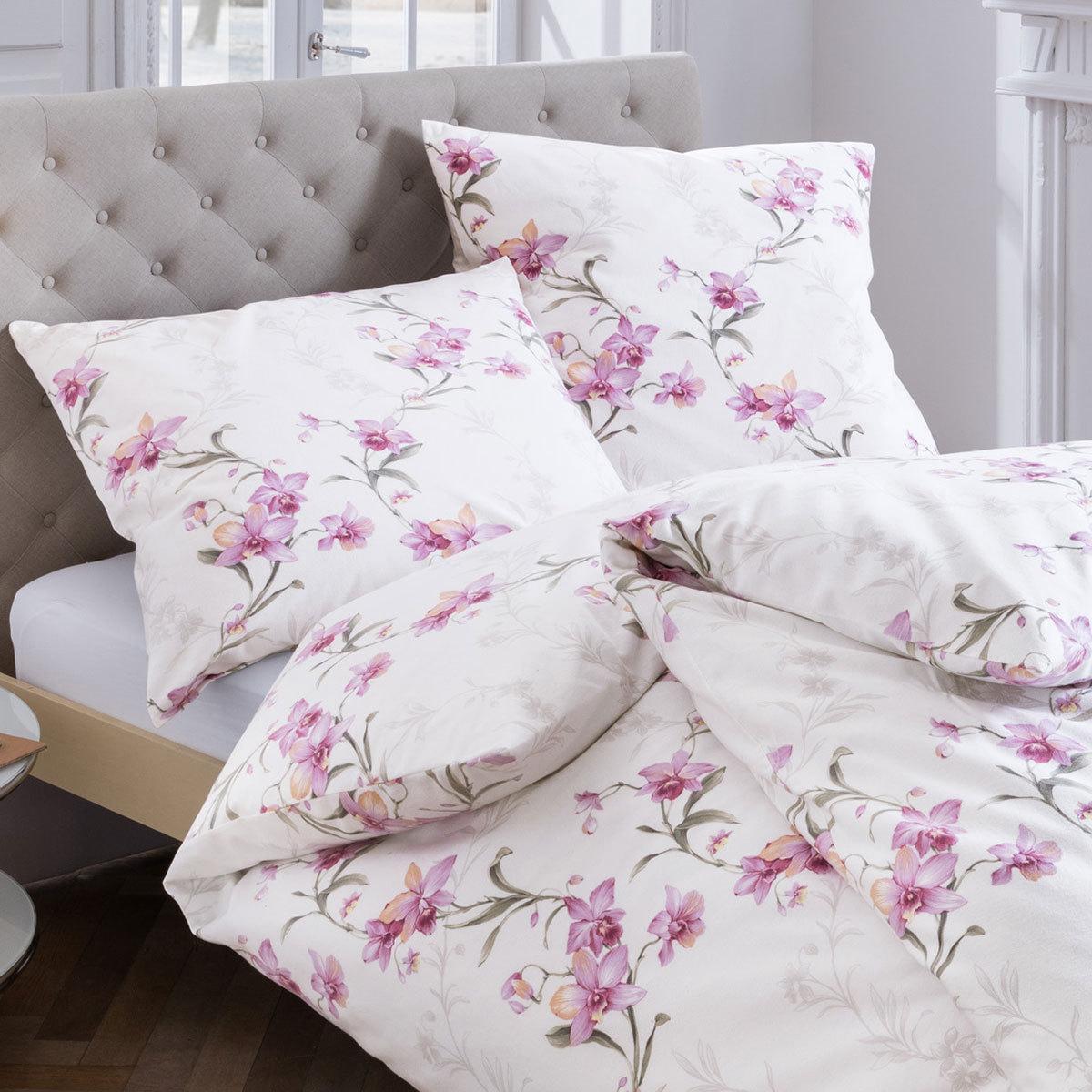 estella feinflanell bettw sche sellrain violett g nstig online kaufen bei bettwaren shop. Black Bedroom Furniture Sets. Home Design Ideas