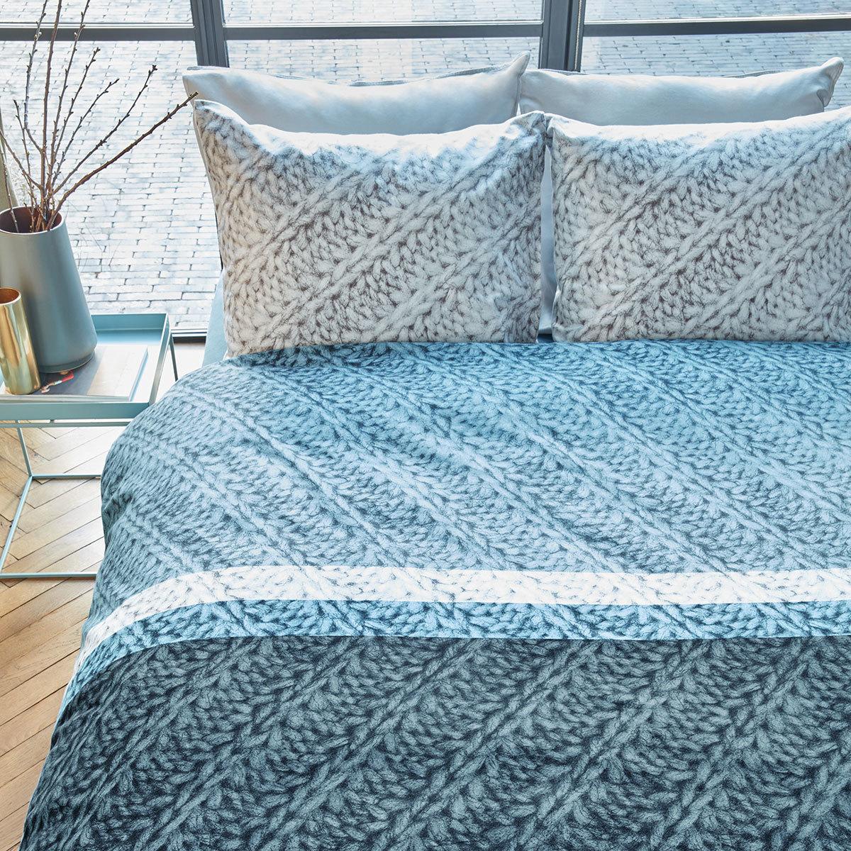 Beddinghouse Flanell Bettwäsche Merino Blue Günstig Online Kaufen