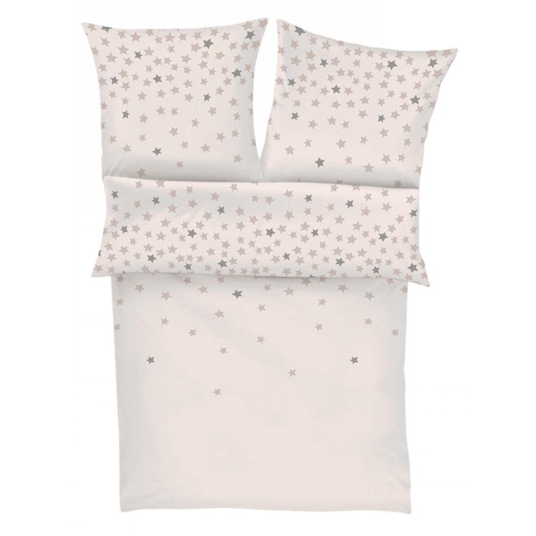 s oliver flanell bettw sche sterne g nstig online kaufen bei bettwaren shop. Black Bedroom Furniture Sets. Home Design Ideas