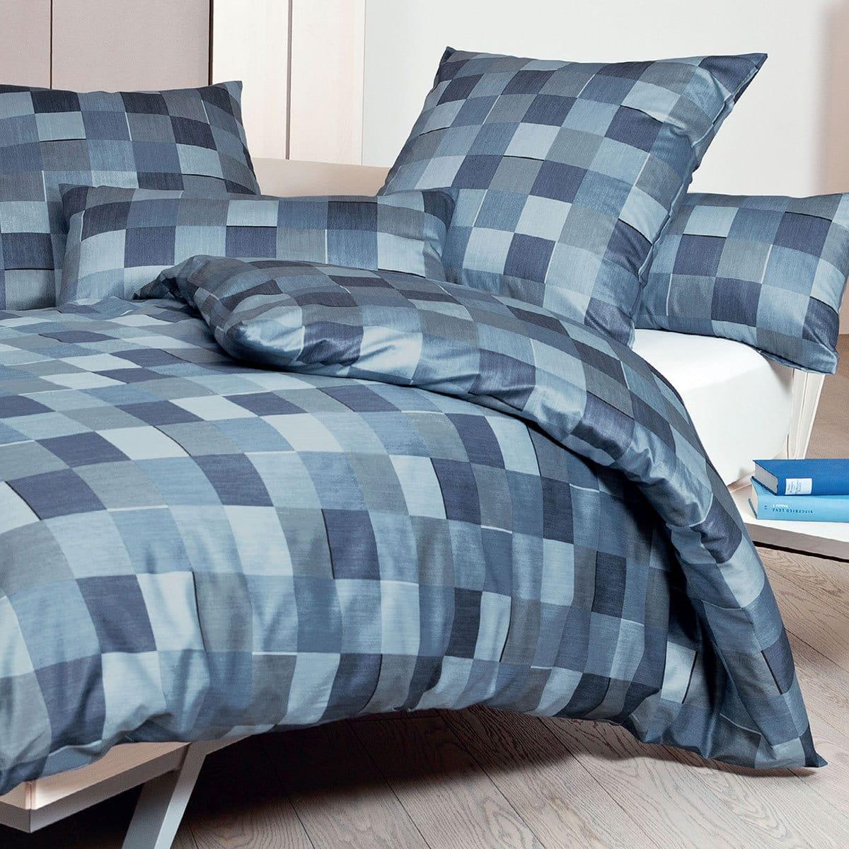 janine interlock feinjersey bettw sche carmen 53030 02 blau g nstig online kaufen bei bettwaren shop. Black Bedroom Furniture Sets. Home Design Ideas