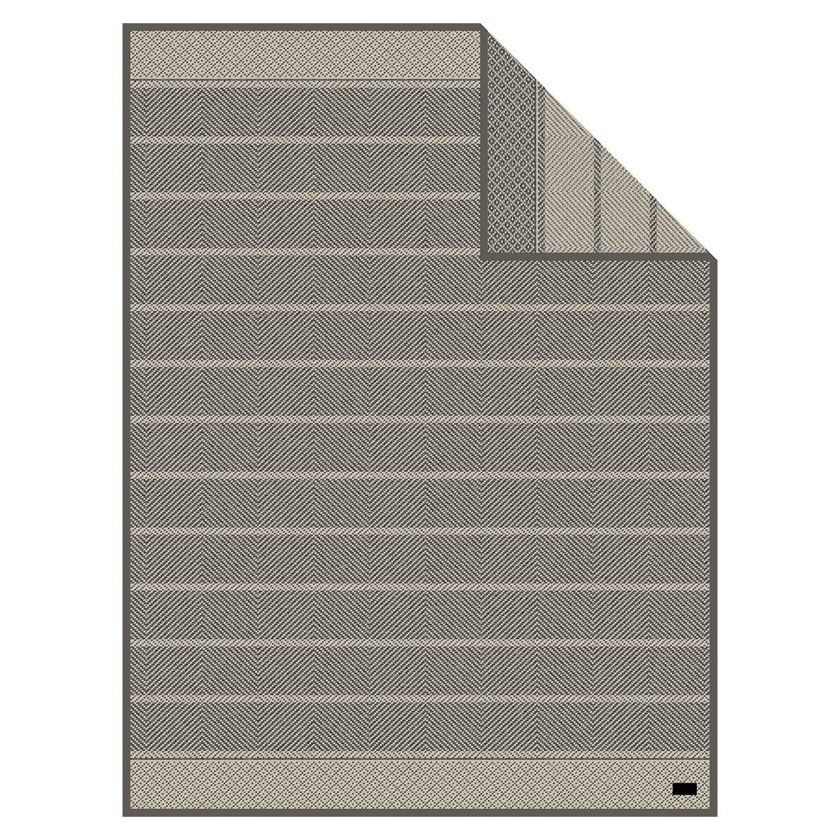 ibena jacquard wohndecke belfort grau g nstig online kaufen bei bettwaren shop. Black Bedroom Furniture Sets. Home Design Ideas
