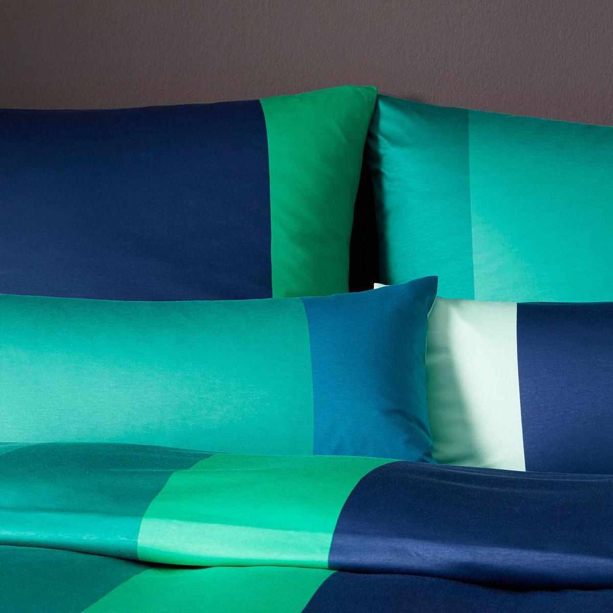 elegante jersey bettw sche bold petrol gr n g nstig online kaufen bei bettwaren shop. Black Bedroom Furniture Sets. Home Design Ideas