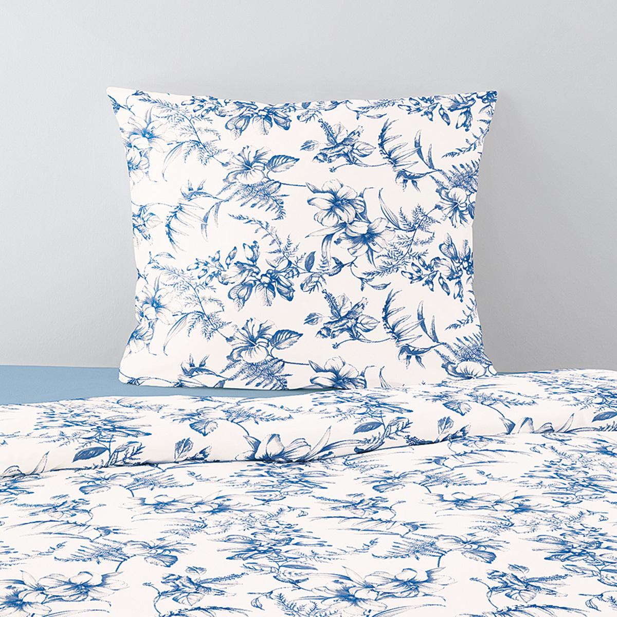 Irisette Jersey Bettwäsche Luna Mjölby Blau Günstig Online Kaufen