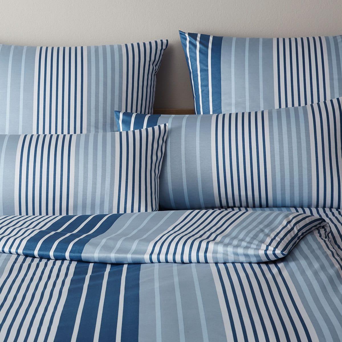 elegante jersey bettw sche shutter rauchblau g nstig. Black Bedroom Furniture Sets. Home Design Ideas