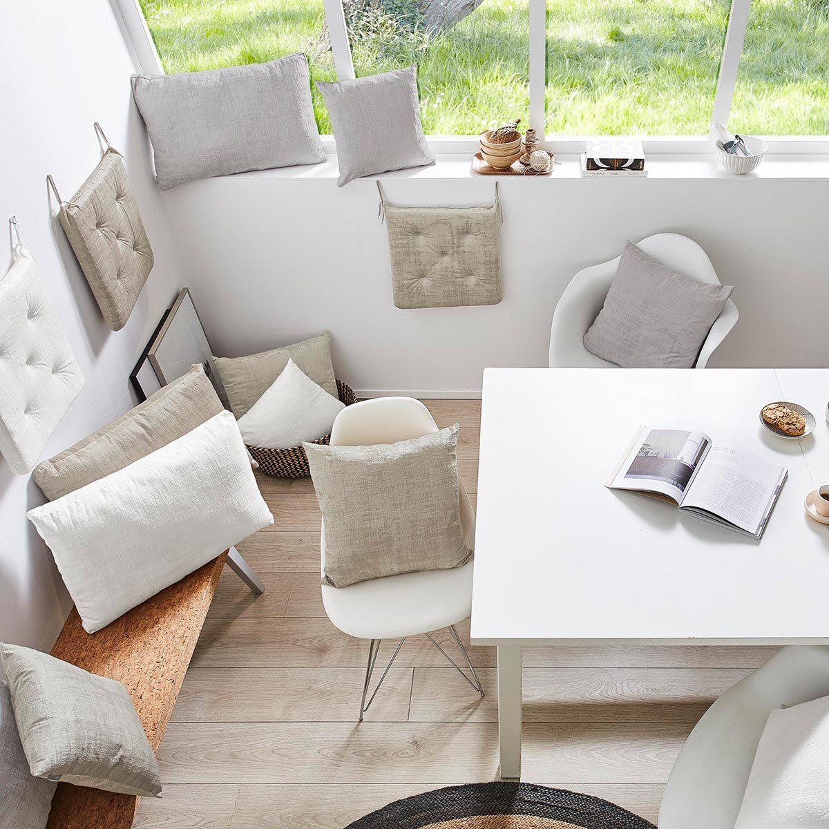 sun garden kissenh lle frozen samt optik g nstig online. Black Bedroom Furniture Sets. Home Design Ideas