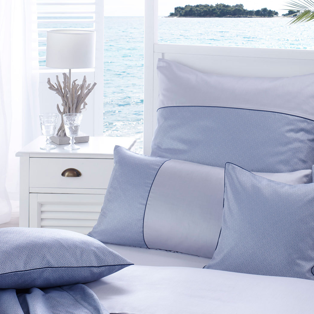 curt bauer mako brokat damast bettw sche calibri ozean g nstig online kaufen bei bettwaren shop. Black Bedroom Furniture Sets. Home Design Ideas