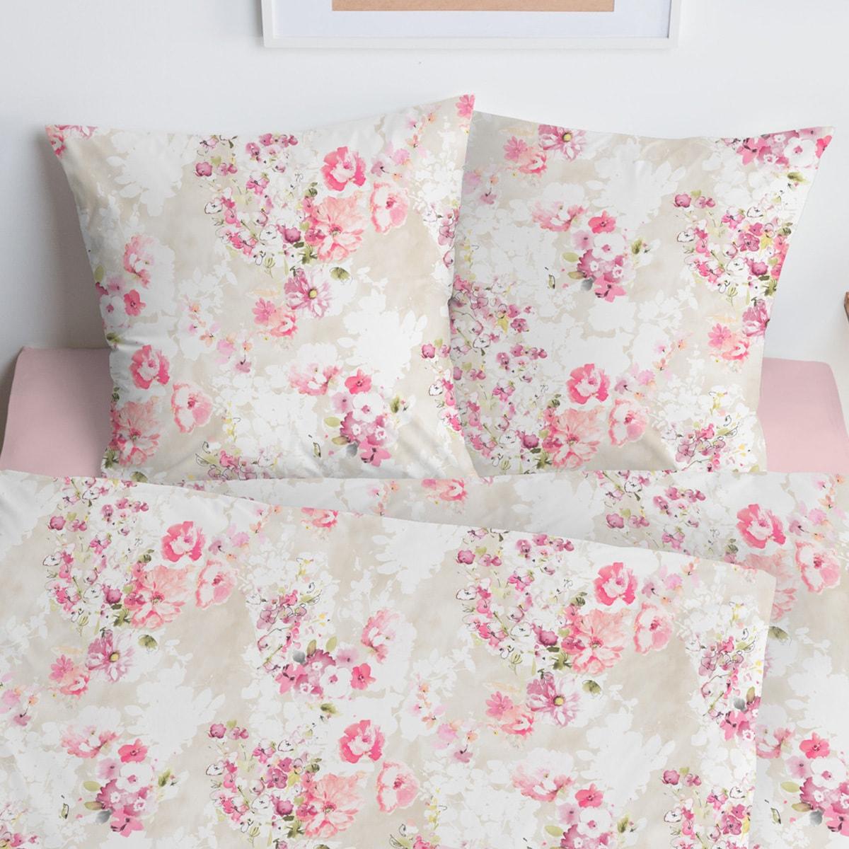 estella mako interlock jersey bettw sche 6135 250 azalee g nstig online kaufen bei bettwaren shop. Black Bedroom Furniture Sets. Home Design Ideas