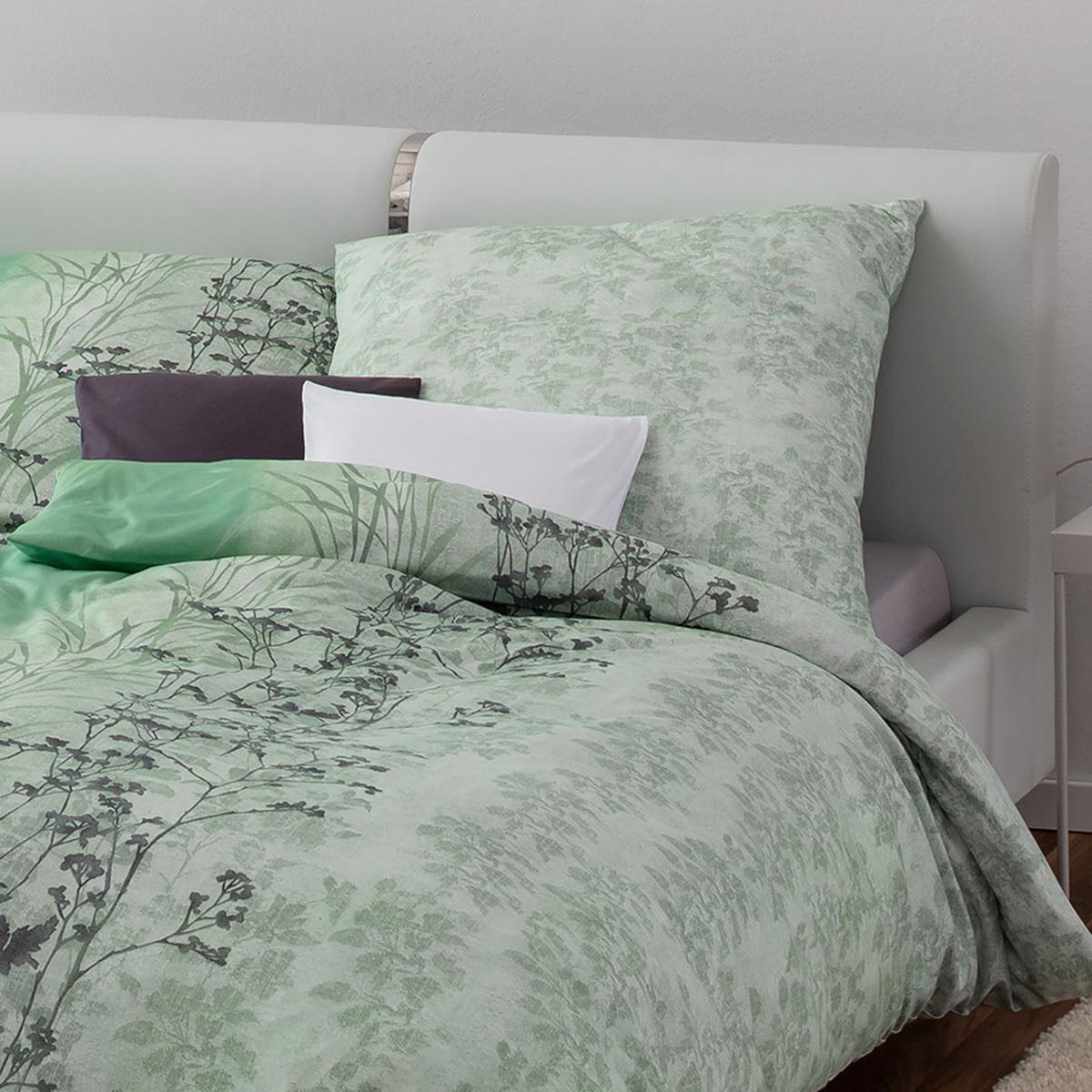 estella mako interlock jersey bettw sche ava mint g nstig online kaufen bei bettwaren shop. Black Bedroom Furniture Sets. Home Design Ideas