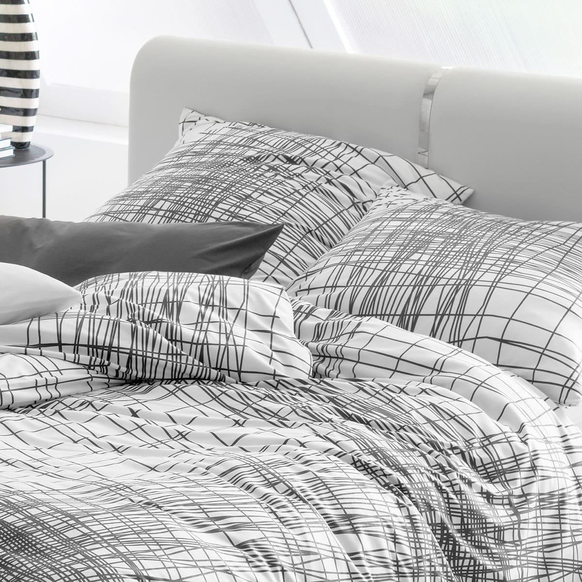estella mako interlock jersey bettw sche ben elfenbein. Black Bedroom Furniture Sets. Home Design Ideas