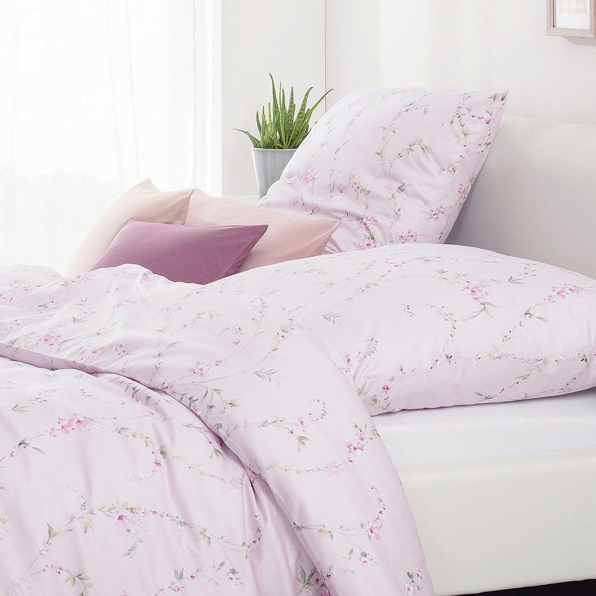 estella mako interlock jersey bettw sche vivien flieder. Black Bedroom Furniture Sets. Home Design Ideas